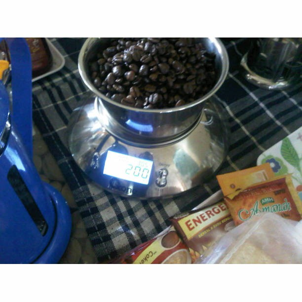 200gr peaberry