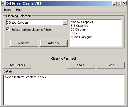 HD Driver Cleaner